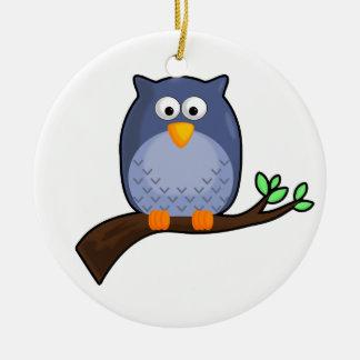 Cute Cartoon Owl Ornament