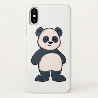 Cute Cartoon Panda iPhone X Case