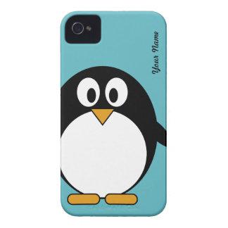 Cute Cartoon Penguin - Blackberry Cover iPhone 4 Case-Mate Cases