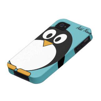 Cute Cartoon Penguin - iPhone 4 4s Case-Mate iPhone 4 Cover