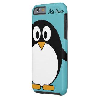 Cute Cartoon Penguin - iPhone 4 4s Tough iPhone 6 Case