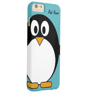 Cute Cartoon Penguin - ipod touch Barely There iPhone 6 Plus Case