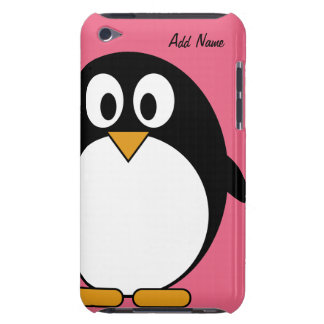 Cute Cartoon Penguin - ipod touch Barely There iPod Cover