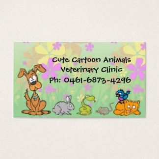 Cute Cartoon Pets Veterinary