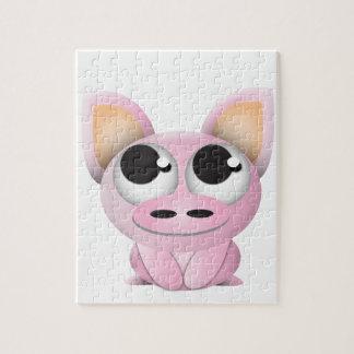 Cute Cartoon Pig Jigsaw Puzzle