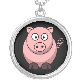 Cute Cartoon  Pig Necklaces