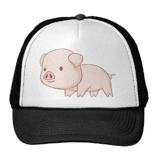 Cute Cartoon Pig Shirts Trucker Hats