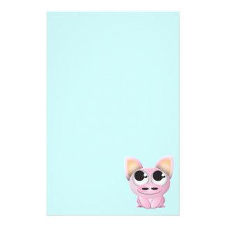 Cute Cartoon Pig Stationery