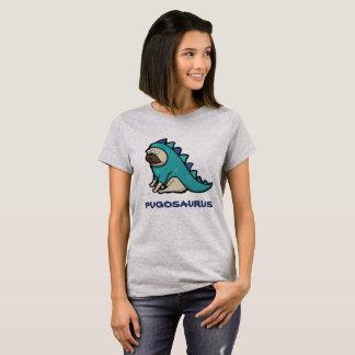 Cute cartoon Pug 'Pugosaurus' T-Shirt