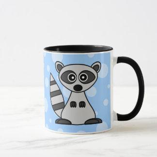 Cute Cartoon Raccoon Mug