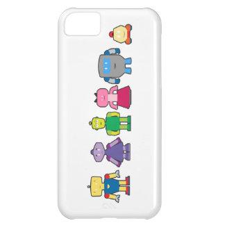 Cute Cartoon Robots iPhone 5C Cases