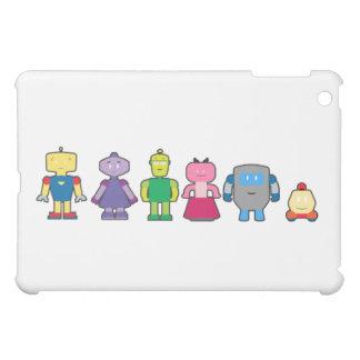 Cute Cartoon Robots iPad Mini Cover