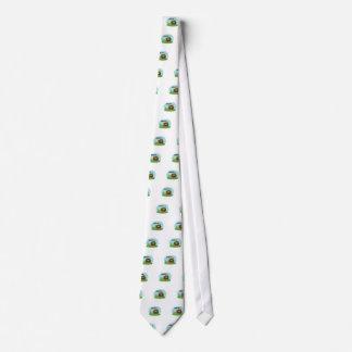 Cute Cartoon sasquatch Tie