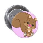 Cute Cartoon Squirrel Pin