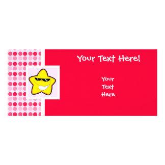 Cute Cartoon Star Custom Rack Cards