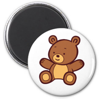 Cute Cartoon Teddy Bear Magnet