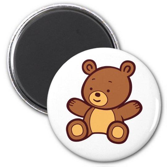 Cute Cartoon Teddy Bear Magnet