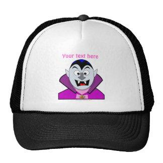 Cute Cartoon Vampire Hallowen Trucker Hat