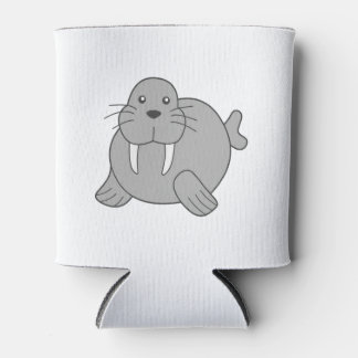 Cute Cartoon Walrus