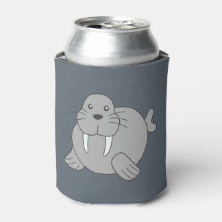 Cute Cartoon Walrus