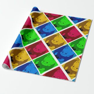 cute cartoon wrapping paper