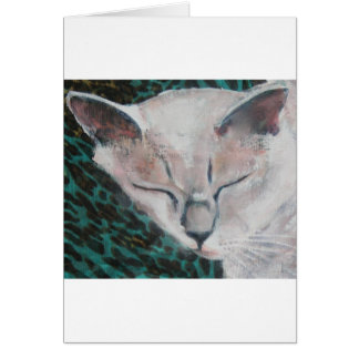 Cute Cat by Luella Greeting Cards