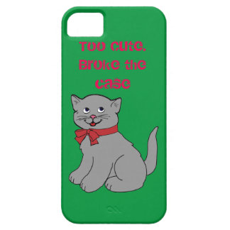 Cute Cat Case For The iPhone 5