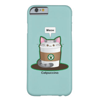 Cute Cat Coffee Barely There iPhone 6 Case
