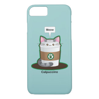 Cute Cat Coffee iPhone 7 Case