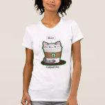 Cute Cat Coffee Tshirts