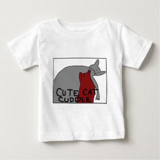 Cute Cat Cuddle Baby T-Shirt