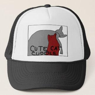 Cute Cat Cuddle Trucker Hat