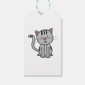 CUTE CAT DOODLE GIFT TAGS