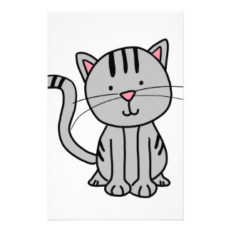 CUTE CAT DOODLE STATIONERY