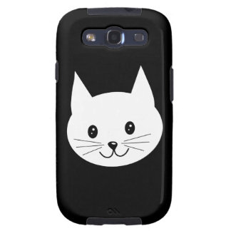 Cute Cat Face. Galaxy S3 Cover