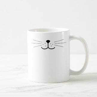 Cute Cat Face Coffee Mug