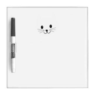 Cute Cat Face. Dry-Erase Board