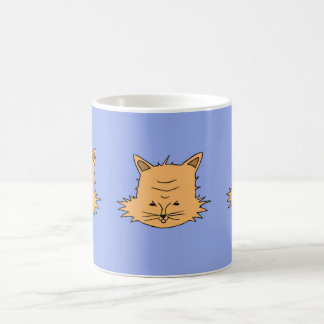 Cute Cat Head Coffee Mug