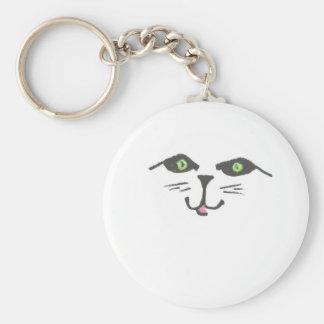 """Cute Cat"" Keychain"