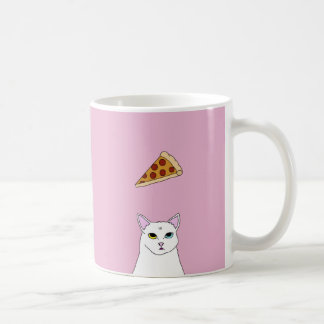 Cute Cat Pizza cartoon Mug