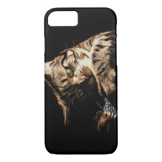 Cute cat playing Iphone 7 Case