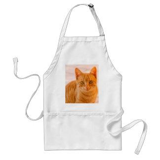 cute cat standard apron