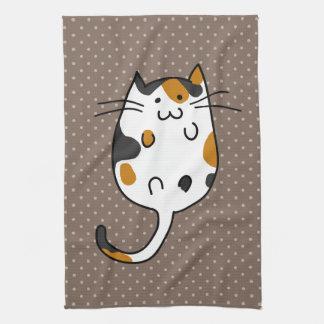 Cute Cat Tea Towel