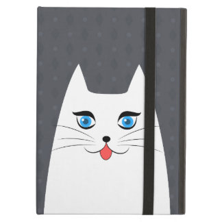 Cute cat with tongue sticking out case for iPad air