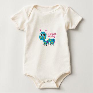 Cute Caterpillar Baby Bodysuit