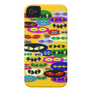 Cute Cats Eyes For Cat Lovers Blackberry Bold Case