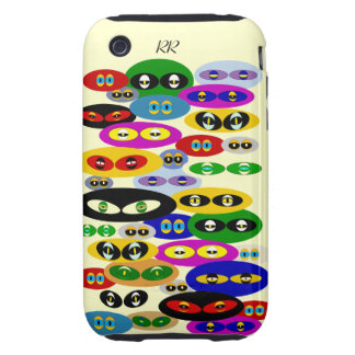 Cute Cats Eyes For Cat Lovers iPhone 3G/3GS Tough iPhone 3 Tough Case
