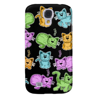 cute cats galaxy s4 cover