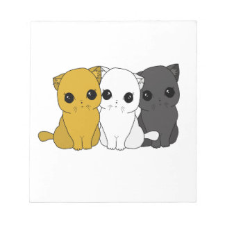Cute cats notepad