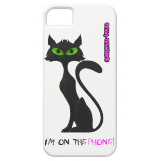 Cute Catty Cattitude iPhone SE + iPhone 5/5S Case